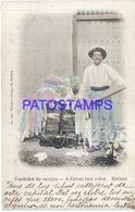 105271 CUBA LA HABANA COSTUMES SELLER VENDEDOR DE ENCAJES  POSTAL POSTCARD - Postcards