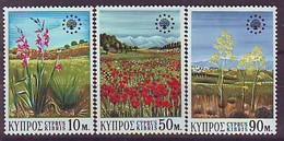 CYPRUS 335-337,unused - Chypre (République)
