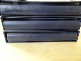 3 Safe Binder Blau Incl. Schuber (8164) - Alben & Binder
