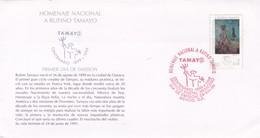 HOMENAJE NACIONAL A RUFINO TAMAYO. FDC 1999, MEXICO - BLEUP - Arts