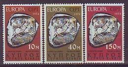 CYPRUS 409-411,unused - Chypre (République)