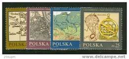 POLAND 1982 MICHEL 2844-2847 SET  MNH - 1944-.... République
