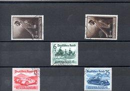 ALLEMAGNE N° 627/9 Et 635/6 - Unused Stamps