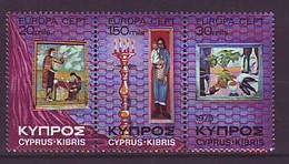 CYPRUS 426-428,unused - Chypre (République)