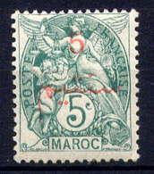 MAROC - 28* - TYPE BLANC - Maroc (1891-1956)