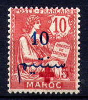 MAROC - 62* - TYPE MOUCHON / CROIX ROUGE - Maroc (1891-1956)