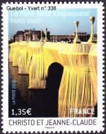 France Autoadhésif N°  338 ** Au Modèle 4369 - CHRISTO Et JEANNE CLAUDE - LE PONT NEUF à PARIS - France
