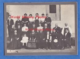 Photo Ancienne - LYON - Portrait De Famille 1ere Communion Chez Jolivot - Charles BERTHELIER , Anna BELLIER , Mm POTHIER - Anciennes (Av. 1900)