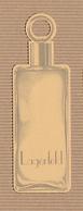 CC Carte Parfumée 'LAGERFELD REPLIQUE' Perfume Card RARE SEMI 1 EX.! [2 Scans] - Perfume Cards
