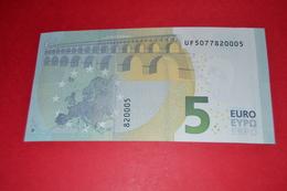 5 EURO U004 F6 FRANCE U004F6 - UF5077820005 - UNC FDS NEUF - EURO