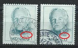 YY--038-. N° 2182/82a, OBL., COTE 15.00 € ,  A SAISIR  , Liquidation - Monaco