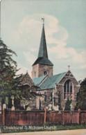 CHISELHURST - ST NICHOLAS CHURCH - England