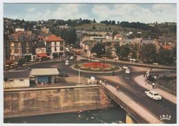 19 BRIVE - A.27 - Edts Théojac - Le Rond Point & Le Pont Cardinal. - Brive La Gaillarde