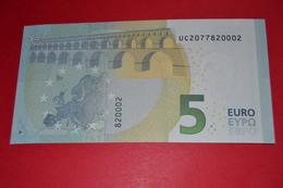 5 EURO U004 C3 FRANCE U004C3 - UC2077820002 - UNC FDS NEUF - EURO