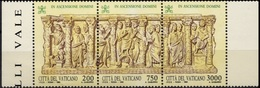 VATICAN Poste 956 à 958 ** MNH Ascension Du Seigneur Bas-relief Isaac Ponce Pilate (CV 7 €) 2 - Vatican