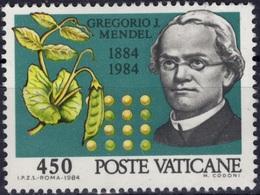 VATICAN Poste 747 ** MNH Abbé Gregor J. MENDEL Père De La Génétique Petits Pois - Vatican