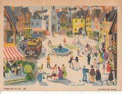 Images De La Vie  - La Place Du Bourg(8) - Cómics