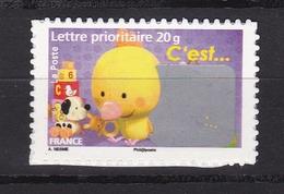 Autoadhésif N° 163**  Poussin - France