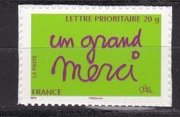 Autoadhésif N° 205**  Un Grand Merci - France