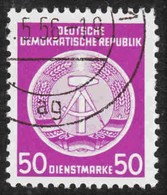 Germany - DDR - Scott #O14 Used - Official Stamp - Service