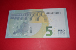 5 EURO U004 A3 FRANCE (CHARGE - 06) - UC0060400702 - UNC FDS NEUF - EURO