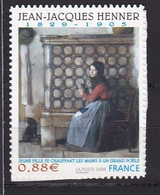 Autoadhésif N° 223** Jean-Jacques Henner - Adhesive Stamps