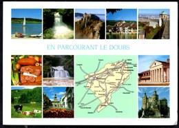 ** En Parcourant LE DOUBS ** CPSM MutiVues Ecrite  TBE - France