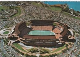 Aloha Stadium Honolulu Hawaii, Football Stadium During All-Star Hula Bowl Game, C1970s/80s Postcard - Honolulu