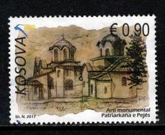 Kosovo, Yv  255 Uit Blok Jaar 2017,  Hogere Waarde,  Gestempeld, Zie Scan - Kosovo