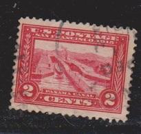 USA Scott # 398 Used - Panama Canal Pedro Miguel Locks - Etats-Unis