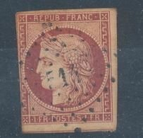 N° 6 ROUGE CARMIN - 1849-1850 Cérès