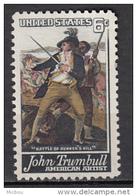 USA, MNG. Militaria, Art, Peinture, Painting, Trumbull - Militaria