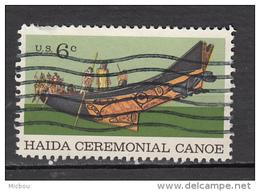 USA, Haida, Indiens D'amérique, Amérindien, Amerindian, Ceremonial, Bateau, Boat, Culture - Religions