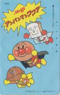 Télécarte Japon / 110-011 - MANGA - ANPANMAN  * Pub MEIJI *- ANIME Japan Phonecard ** NTV Television ** - 10129 - Stripverhalen