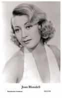 JOAN BLONDELL - Film Star Pin Up PHOTO POSTCARD- Publisher Swiftsure 2000 (2555/278) - Postales