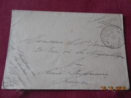 Lettre De Belgique Avec Cachet De La Poste Militaire De Belgique - Postmark Collection