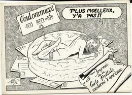 77 COULOMMIERS - Thème FROMAGE - Dessin Charles BERG - 1993 - Journée De La Carte Postale - Coulommiers