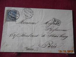 Lettre De Suisse De 1874 Pour Paris - Lettres & Documents