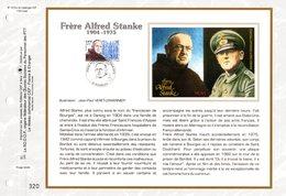 """"""" FRERE ALFRED STANKE """" Sur Feuillet CEF N°té En SOIE De 2000 N° 1829s. N° YT 3349. Parfait état FDC - Militaria"""