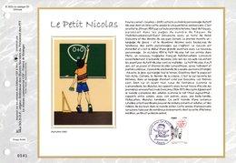 """"""" LE PETIT NICOLAS """" Sur Feuillet CEF N°té En SOIE De 2009. N° 2022s. N° YT ADH 363. Parfait état FDC - France"""