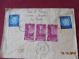 Lettre De Roumanie De 1953 Pour La France - 1948-.... Républiques