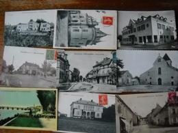 LOT N°1 De 30 CPA Du Départ. 71 Saône Et Loire - 3 Scans - Cartes Postales