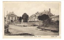 AISNE  /  CUISY-en-ALMONT  /  MAIRIE , ECOLE  /  Edit.  LECLÈRE - France
