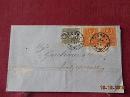 Lettre Du Chili De 1882 Pour Valparaiso - Chili