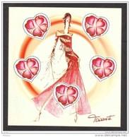 France, Textile, Haute Couture, Vêtement, Coeur, Torrente, Heart, Fashion, Mode, Femme, Woman - Ungebraucht