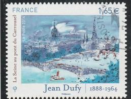 FRANCE 2014  ADHESIF JEAN DUFY YT 1032 OBLITERE - France