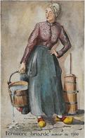Fermière Briarde Autour De 1900-MO - Femmes