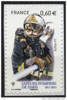 N° 601 Adhésif , Sapeurs Pompiers De Paris, Valeur Faciale 0,60 € - France
