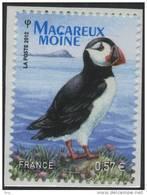 N° 712 Adhésif 2012, Macareux Moine  Valeur Faciale 0,57 € - France