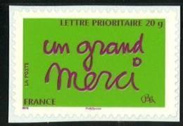 N° 205 (3761) Adhésif  Un Grand Merci Valeur Faciale Lettre Prioritaire - France